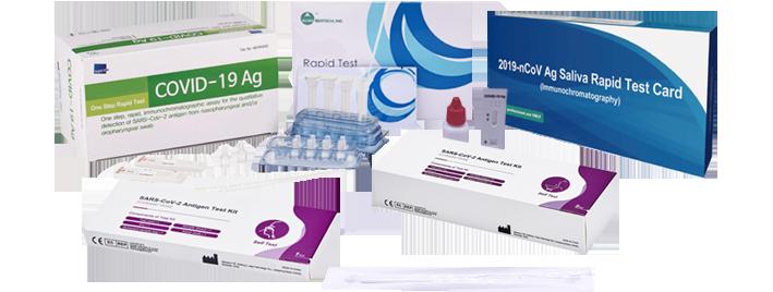Testes Rápidos Ag COVID-19